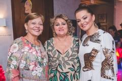 Graça Romcy, Vera Costa e Lúcia Praciano
