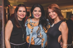 Lorena Pouchain, Sellene Câmara e Suzane Farias