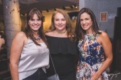 Marília Matos, Luiziane Cavalcante e Ana Virgínia Martins