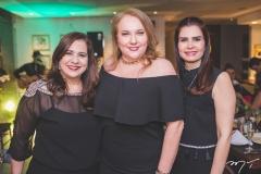 Martinha Assunção, Luiziane Cavalcante e Lorena Pouchain