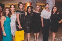 Metoniza Vieira, Ana Cristina Lima, Micheline Pinheiro, Wânia Negromonte, Luiziane Cavalcante, Fátima Santana e Denise Cavalcante