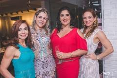 Metoniza Vieira, Flávia Castelo Branco, Izabeli Leitão e Ana Cristina Lima