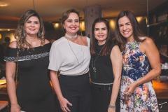 Micheline Pinheiro, Fátima Santana, Lorena Pouchain e Ana Virgínia Martins