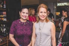 Neiara Frota e Tereza Ximenes