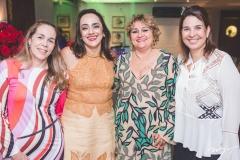 Silviane Oliveira, Denise Sanford, Vera Costa e Euwlaudia Fontenele