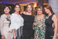 Sirlangela Maurício, Márcia Andréa, Luiziane Cavalcante, Vera Costa e Suzane Farias