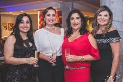 Wânia Negromonte, Fátima Santana, Izabeli Leitão e Micheline Pinheiro