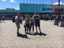Viagem Mirella Rocha e família para Toronto