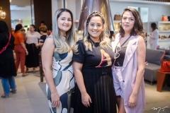 Gislaine Lopes, Ana Luiza Ribeiro e Mariana Alencar
