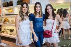 Manuela de Castro, Juliana Cordeiro e Nicole Vasconcelos