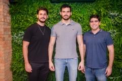 Júlio Bezerra, Kalil Farah e Bruno Perdigão