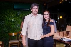 Lucio Bonfim e Lorena Pouchain