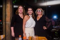 Luiziane Cavalcante, Márcia Travessoni e Vera Costa