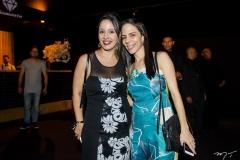 Caroline Pinho e Gerda Magalhães