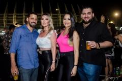 Daniel Bandeira, Talita de Castro, Carla Monte e Mychell Carvalho