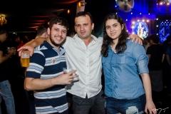 Leonardo Fernandes, Felipe Fernandes e  Sabrina Quezado