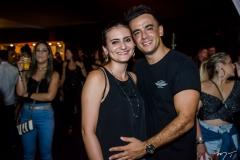 Paloma Balluz e Agnaldo Oliveira
