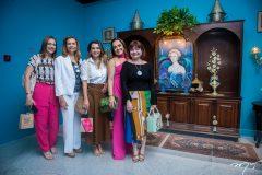 Ana Claudia Canamary, Rose Batista, Márcia Travessoni, Denise Snaford e Chris Leite