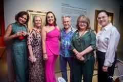 Ana Cristina Menedes, Bia Perlingeiro, Denise Sanford, João Carlos Portinari, Maria Helena Cardoso e Denise Cavalcante