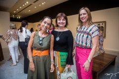 Márcia Távora, Chris Leite e Ana Claudia Canamary