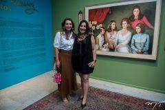 Márcia Travessoni e Neusa Bentes