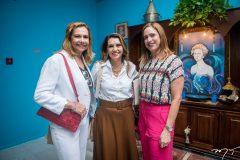 Rose Batista, Márcia Travessoni e Ana Claudia Canamary