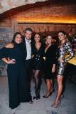 Daniela Falcão, Gustavo Rabello, Sabrina Sato, Carol Rabello e Thássia Naves