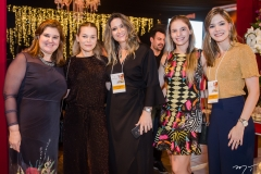 Adriana Aldigueri, Ana Maria Max, Margareth Bombonatti, Sabrina Max e Andressa Aldigueri