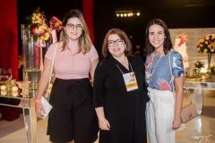 Lara Mascarenhas, Andréa Helena e Bruna Ribeiro