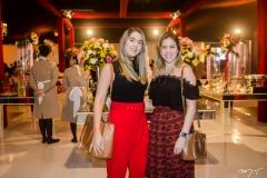 Lorena Ciarlini e Neide Aragão