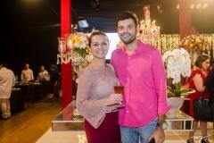 Milene e Kayron Ferreira