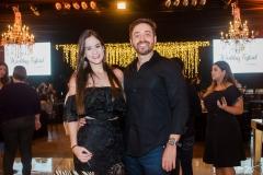 Suzana Maurício e Adriano Felix