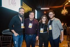 Thelmo Maia, Tiago Alves, Paula Viana e Luan Viana