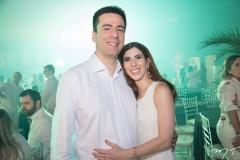André Sampaio E Laura Pierre