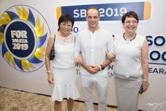 Emilia Sato, Ricardo Xavier e Cássia Boss