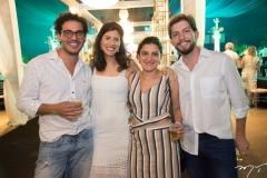 Leonardo Mendonça, Joara de Paula, Ana Luiza Foelkel e Ricardo Krieger