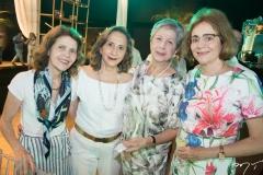 Maria Leyla, Maria das Graças Oliveira, Leila Samara e Catarina Cavalcante