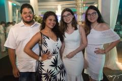 Samuel Basualto, Andresa Franco, Clara Martins e Vitória Takatani