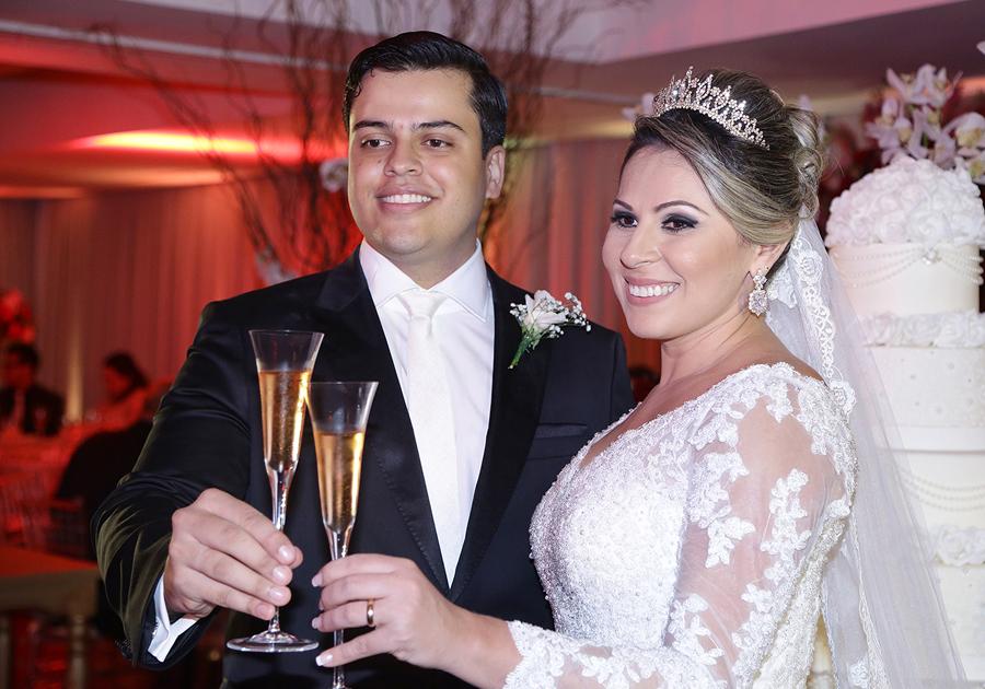 Bruno e Wanda se casam