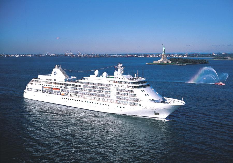 Carnaval de luxo com a Silversea