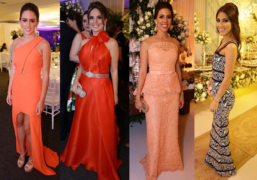 Os vestidos mais deslumbrantes do fim de semana