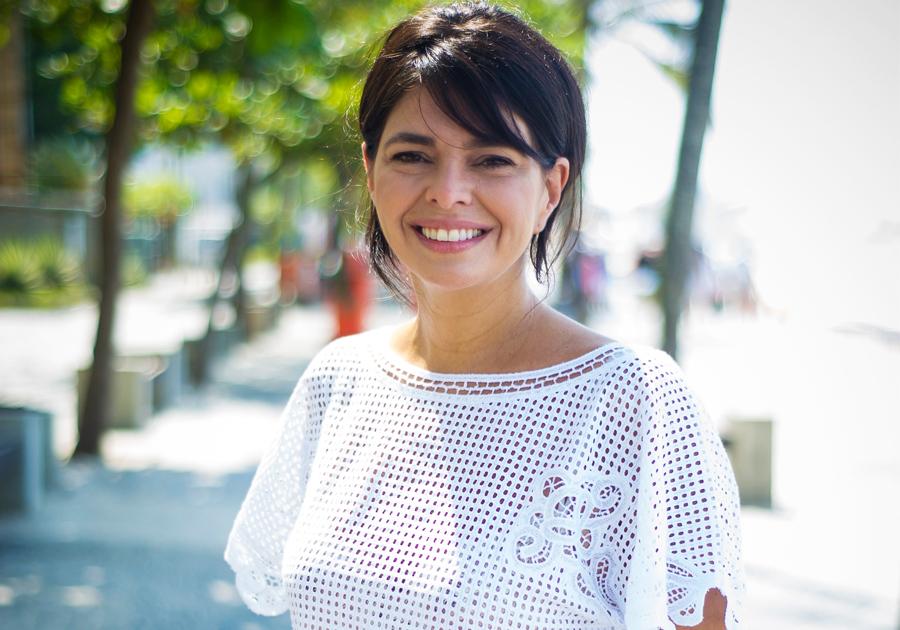 Renata Abranchs prestigia o Inverno da Florinda
