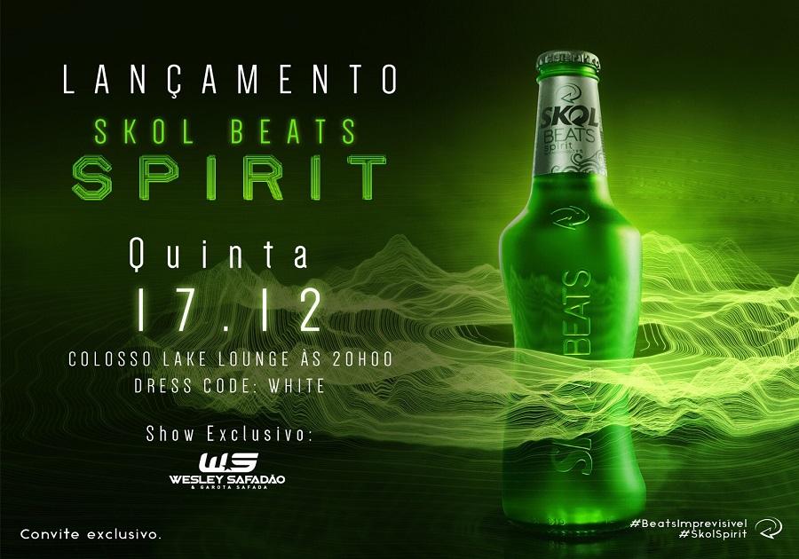 Skol Beats Spirit será lançada hoje no Colosso
