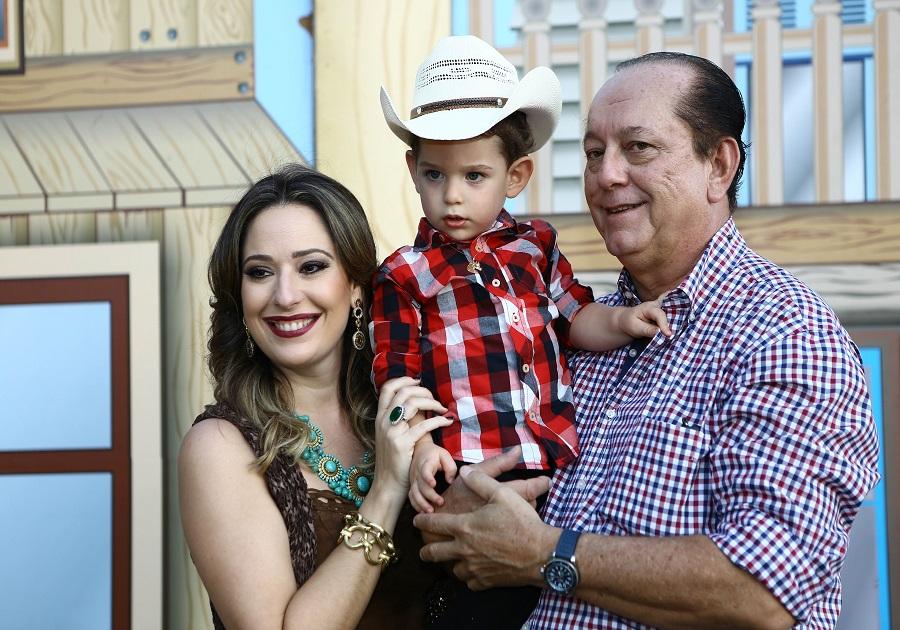 Silvinha e Rafael Leal celebram 2 anos de Sylvio