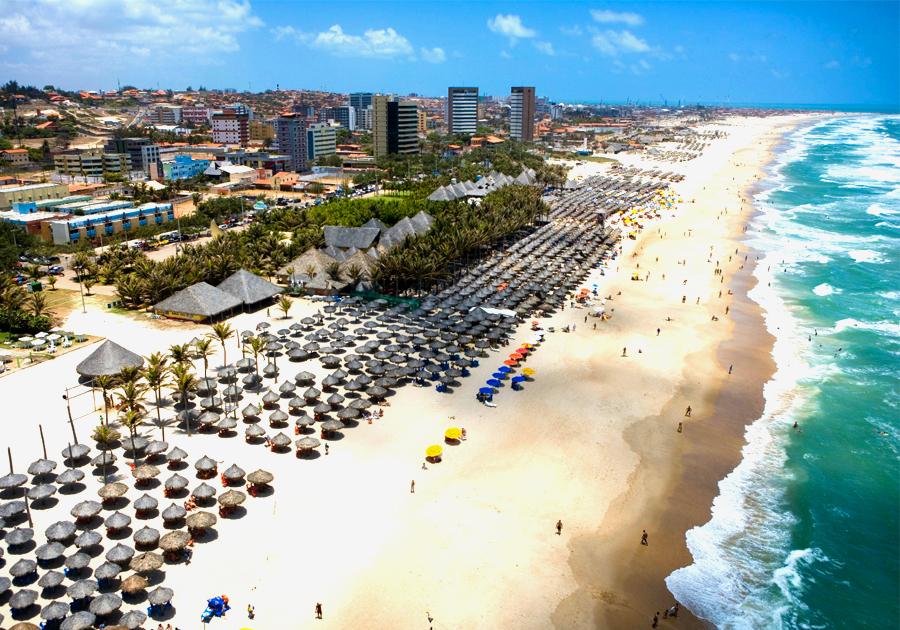 Top 3 – Barracas de praia interessantes em Fortaleza