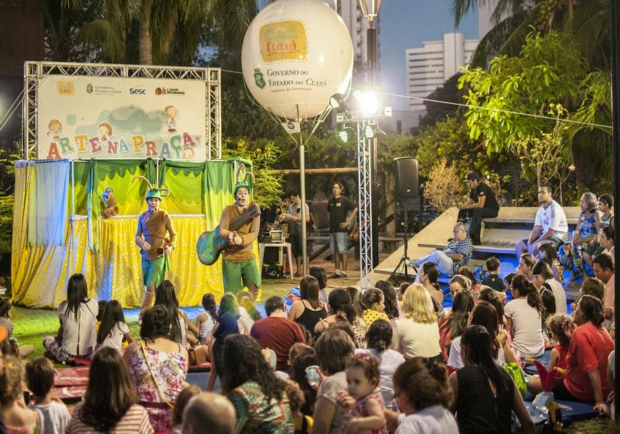 Governo do Estado promove Arte na Praça em cinco municípios