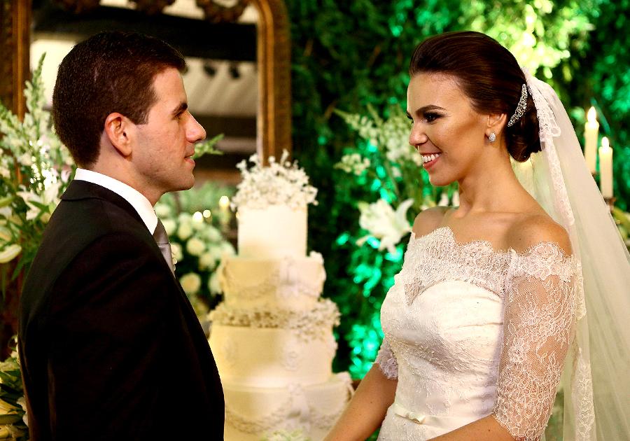 O requintado casamento de Natália Carneiro e Guilherme Praça
