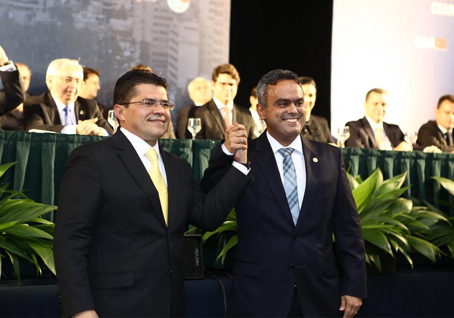 Posse de Marcelo Mota na Presidência da OAB-CE