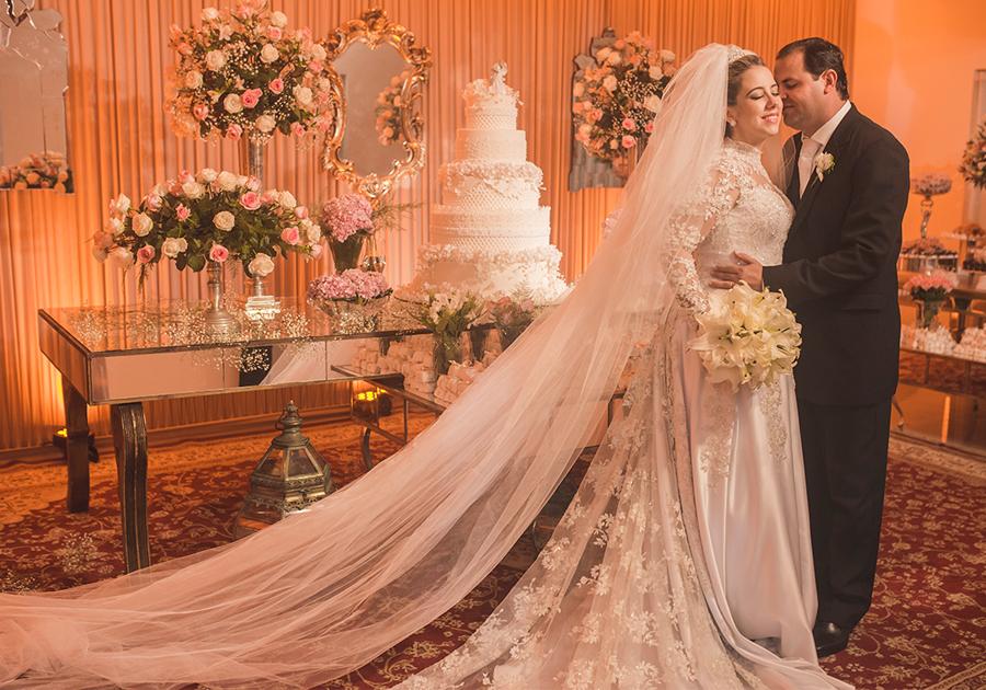 O elegante Casamento de Carolina Marzagão e José Airton Rodrigues