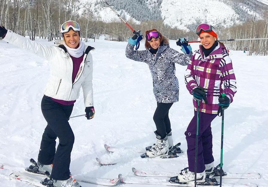 #GaleriaFolia | O frio do Colorado foi a escolha da família Silva e amigos